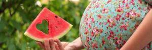 Почему необходимо включить арбуз в рацион питания беременных