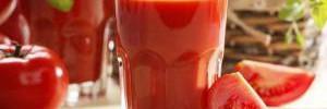 Томатный сок помогает от старения и онкологии