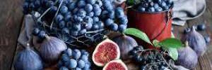 Виноград и черника помогут сохранить здоровье легких