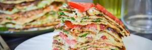 Кабачковый торт: рецепт с мясом и блюдо для веганов