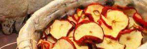 Самые диетические чипсы в мире: как сушить яблоки дома