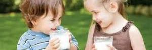 О пользе молочных продуктов в детском питании