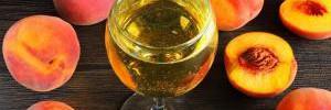 In vino veritas: консервация персиков в вине