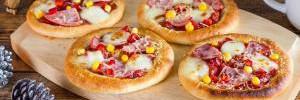 Мини-пиццы как в школе