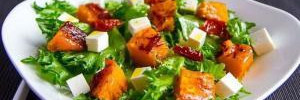 Изысканный осенний салат на 120 калорий