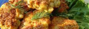 Куриные котлеты с белокочанной капустой