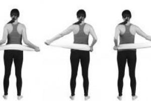 Гимнастика Дикуля: упражнения для спины и позвоночника часть1
