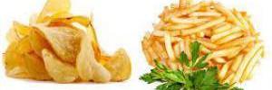 Эксперты назвали опасности употребления картофеля фри и чипсов