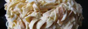 Несложные рецепты: блинный салат