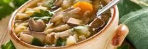 Грибная пора. Часть 1. Ароматный грибной суп
