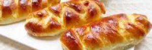 Тесто на кефире для пирожков с творогом