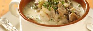 Рецепт самого вкусного крем-супа из шампиньонов