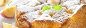 Рецепт ленивой яблочной шарлотки из хлеба