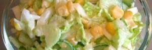 Салат-паста с сельдереем