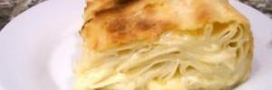 Ачма: как приготовить грузинский пирог из лаваша с сыром