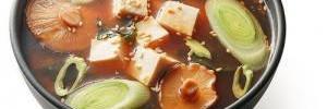 Мисо-суп с зерновыми и овощами