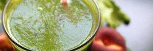 Детокс-коктейль для похудения: рецепт с яблоками и шпинатом