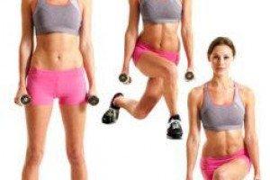 Вечерняя тренировка для стройных ног