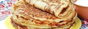 Ешь хоть каждый день: диетические блины на кефире